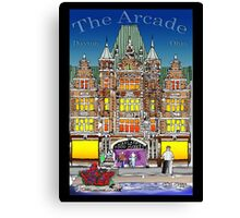The Arcade in Color Canvas Print