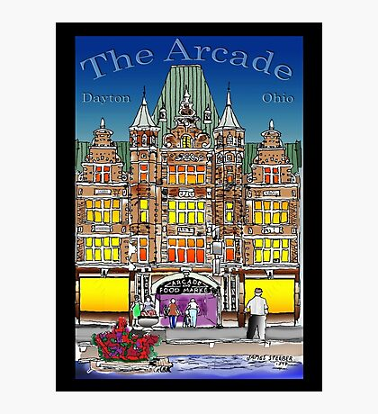 The Arcade in Color Photographic Print
