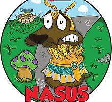 Nasus the cowardly dog! by DeePeeIllustr