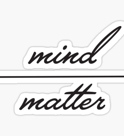 Young the Giant Mind Over Matter Sticker