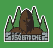 Seattle Sasquatches One Piece - Short Sleeve