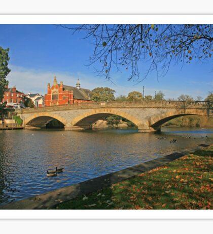 River Avon, Evesham Sticker