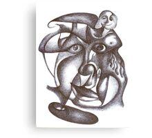 InterFace - CaraInterna Canvas Print