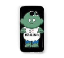 I <3 Brains Samsung Galaxy Case/Skin