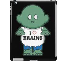 I <3 Brains iPad Case/Skin