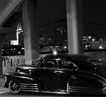 Chicano Gothic :Sixth Street Bridge  by john  garcia