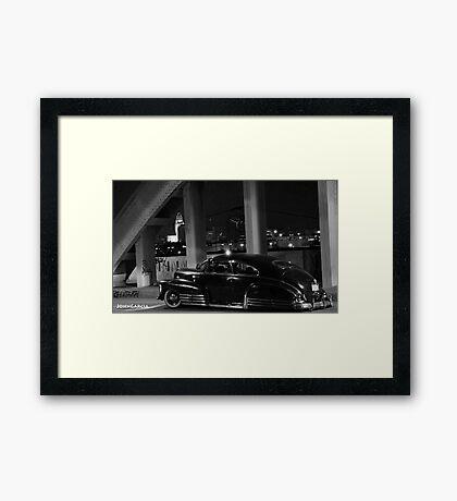 Chicano Gothic :Sixth Street Bridge  Framed Print