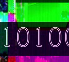 Fuck 10101000 Gender -- Monospace Text Sticker