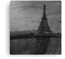 Eiffel Painting Canvas Print