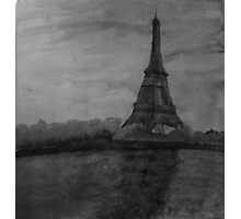 Eiffel Painting Photographic Print
