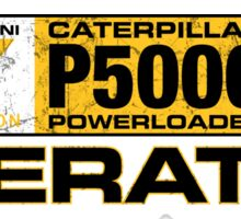 Powerloader Operator Sticker