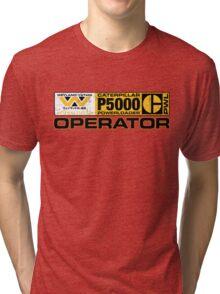 Powerloader Operator Tri-blend T-Shirt
