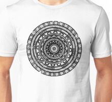 Hand-Drawn Abstract Mandala Unisex T-Shirt