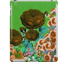 Beautiful Earth Tone Floral Abstract  iPad Case/Skin