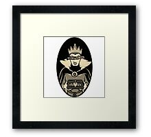 God Save The Evil Queen Framed Print