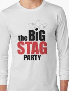 the Big Stag Party - black Long Sleeve T-Shirt