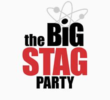 the Big Stag Party - black Unisex T-Shirt