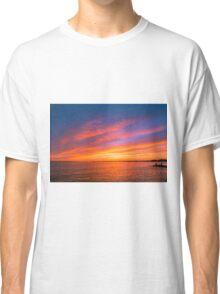 Fishing The Sunset Classic T-Shirt