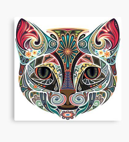 Zorro the Cat Canvas Print