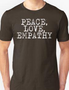 Peace Love Empathy Grunge T Shirt Unisex T-Shirt