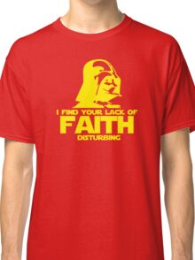 """Vader """"Lack of Faith"""" Classic T-Shirt"""