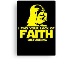 "Vader ""Lack of Faith"" Canvas Print"