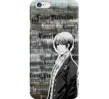 Vincent Phantomhive Lettering iPhone Case/Skin