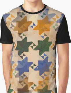 Old Moroccan Tiles Graphic T-Shirt