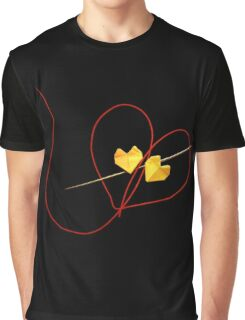 Red String of Fate Graphic T-Shirt