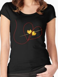 Red String of Fate Women's Fitted Scoop T-Shirt