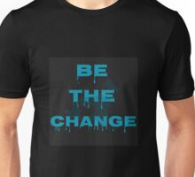 Flat earth real truth time for change Unisex T-Shirt