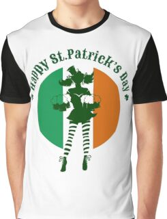 Saint Patricks Day Party Design Graphic T-Shirt