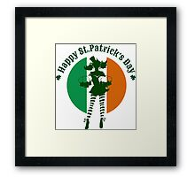 Saint Patricks Day Party Design Framed Print