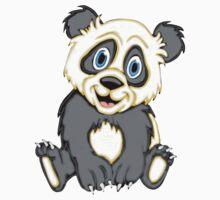 Smiling Panda One Piece - Short Sleeve