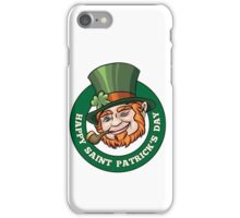 Saintt Patricks Day Badge iPhone Case/Skin