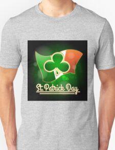 Saint Patricks Day Greeting Theme T-Shirt