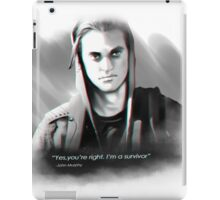 I'm a survivor iPad Case/Skin