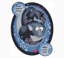 Whale you be mine? Kids Clothes