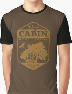 Roy's Cabin Graphic T-Shirt