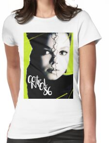 control '86 Womens Fitted T-Shirt