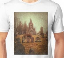 At Evergreen Cemetery Unisex T-Shirt