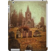 At Evergreen Cemetery iPad Case/Skin