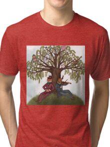 Musical Friends - A Hilltop Gathering Tri-blend T-Shirt