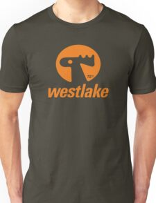 Orange Elk Logo T-Shirt Unisex T-Shirt