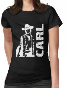 The Walking Dead - Carl Grimes Womens Fitted T-Shirt
