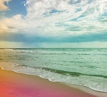 Beach in Colours by Michelle McConnell