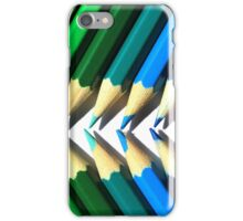 Colored Pencil Angles iPhone Case/Skin