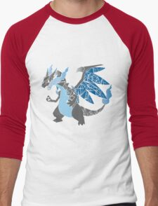 Pokemon  Charizard Mega evolution X Men's Baseball ¾ T-Shirt