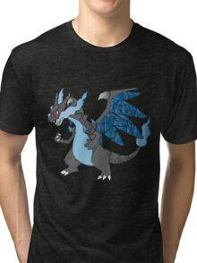 Pokemon  Charizard Mega evolution X Tri-blend T-Shirt