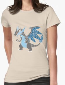 Pokemon  Charizard Mega evolution X Womens Fitted T-Shirt